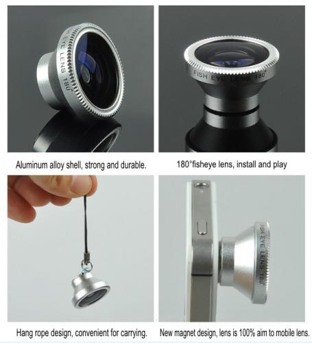 Magnet 3 in 1 Mobile Lens